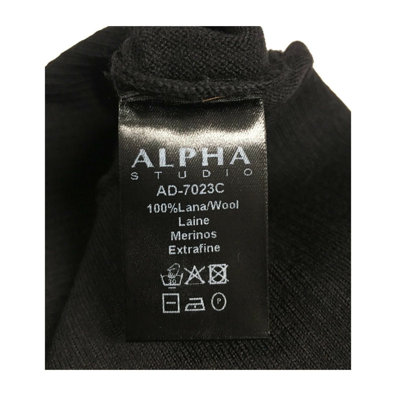 ALPHA STUDIO maglia damen girocollo over 100% manica costine mod AD-7023C 100% over lana 9d32d9