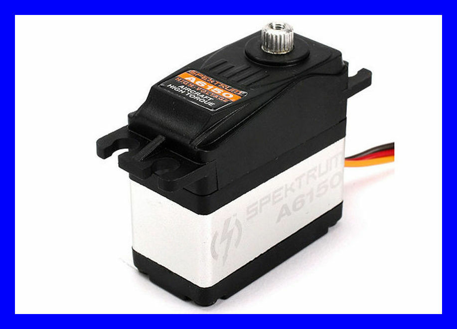Spektrum A6150HV A6150 MG High Torque Waterproof Metal Gear RC Servo SPMSA6150
