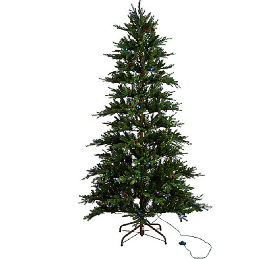 ed on air santas best 75 rustic spruce tree by ellen degeneres h209427