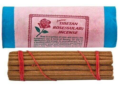 Tibetan Rose Incense Sticks - Nepal Incense NEW {:-)