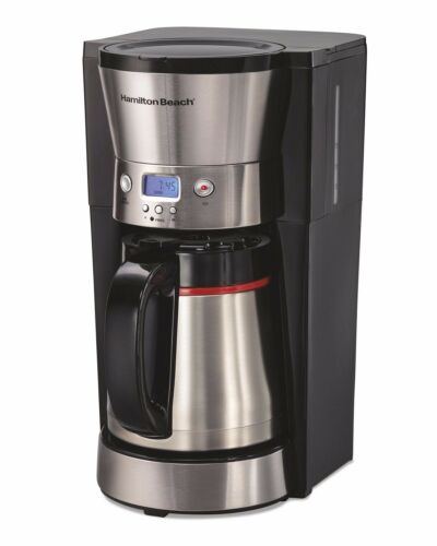 Hamilton Beach PROGRAMMABLE Thermal Coffee Maker 46897Z