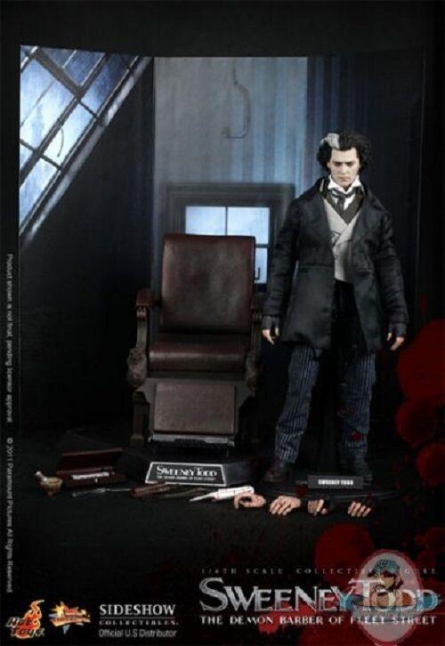 1 1 1 6 Scale Sweeney Todd The Demon Barber of Fleet Street Hot Toys b1e94d