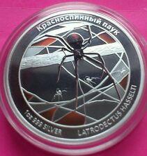2011 TUVALU RED BACK SPIDER,SHARK,OCTOPUS,CROCODILE, SNAKE COMPLETE PROOF SET
