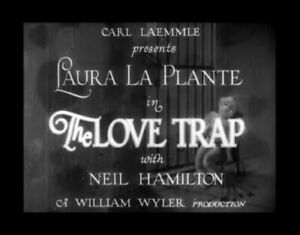 DVD-THE-LOVE-TRAP-William-Wyler-1929-Laura-La-Plante-Neil-Hamilton