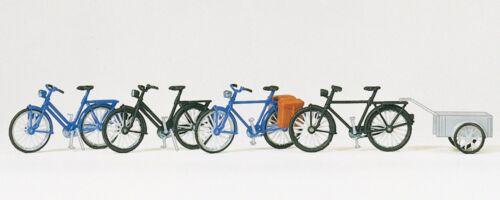 4 unités Vélo neuf Vélos Preiser 17161 h0