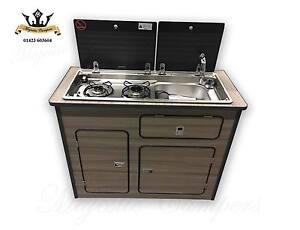 Marine boat campervan motorhome pod kitchen unit smev 9722 for Camper van kitchen units
