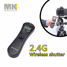 2.4G Wireless timer remote control shutter receiver for Canon 70D 60D 700D G10