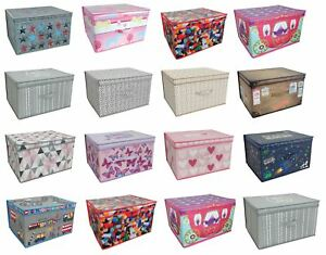 Image Is Loading Jumbo Storage Chest Box Room Tidy With Lid