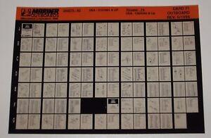 Microfich-Parts-Catalog-Mariner-Outboards-Ersatzteilkatalog-250-275-A2-05-1996