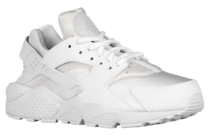 New Nike Air Huarache Women Running Shoes WHITE  5 US =UK 2.5= EUR 35.5 =22 cm