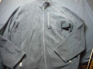 88c8179b0e7b Stanley Black Zipper Front Large Polyester Men's Fleece Jacket   eBay