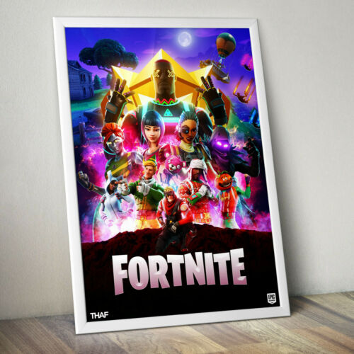 FORTNITE Gaming Video Game XBOX Poster Art Print A3+ PLUS A3 A4 SIZE Glossy Gift