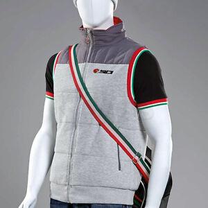 Sidi-Casuals-Gilet-Body-Warmer-Grey-Winter-Clothing-track-paddock-bodywarmer