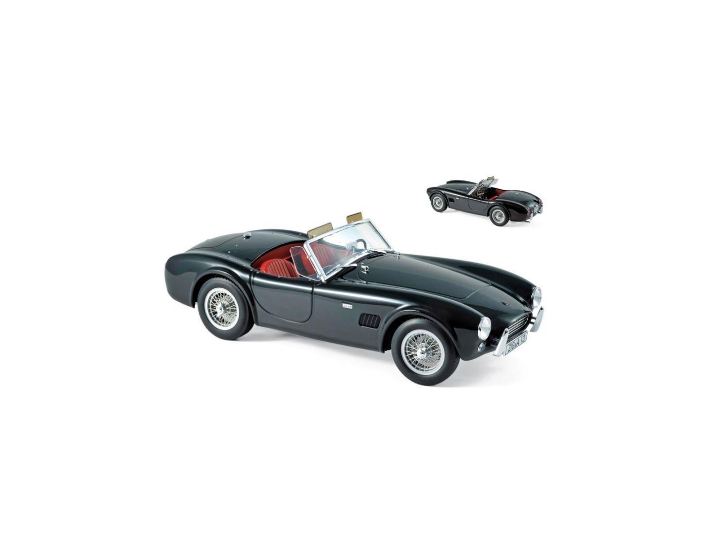 Norev NV182754 AC COBRA 289 1963 nero 1 18 Modellino