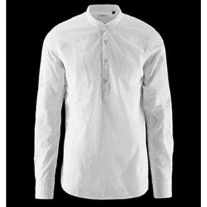 online store ba8c6 bae6a Dettagli su CAMICIA uomo Bomboogie APERTURA GURU coreana L XXL SM4328TPJ3  bianca cotone