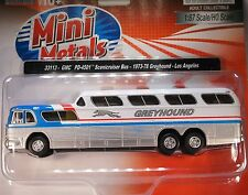 HO 1/87 Classic Metal Works # 33111 PD-4501 Greyhound Scenicruiser Bus New York