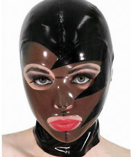 Fetish Cosplay Costumes Latex Rubber Unisex Hood Mask Party Wear Unique New