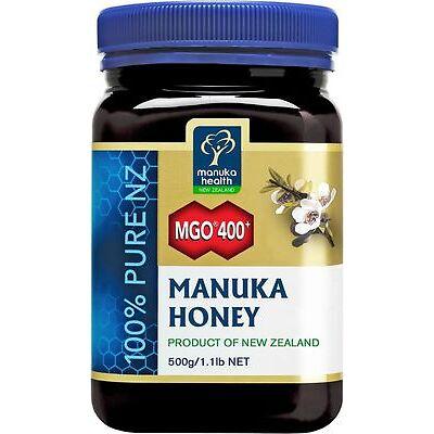 Aktiver Manuka-Honig MGO 400+ 500g, Manukahonig zertifiziert .