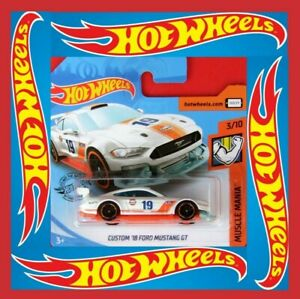 Hot-Wheels-2019-039-18-Ford-Mustang-GT-180-250-neu-amp-ovp