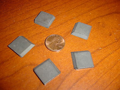 carbide solid insert chip breaker SLC-24A 11//16 x 11//16 x 3//32 dual edge shim 5
