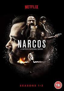 NARCOS 1-3 (2015-2017) Pablo Escobar Netflix TV Season Series NEW ... f3ec812a04