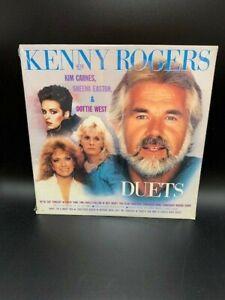 KENNY ROGERS Duets LP Vinyl Album SEALED Kim Carnes DOTTIE ...