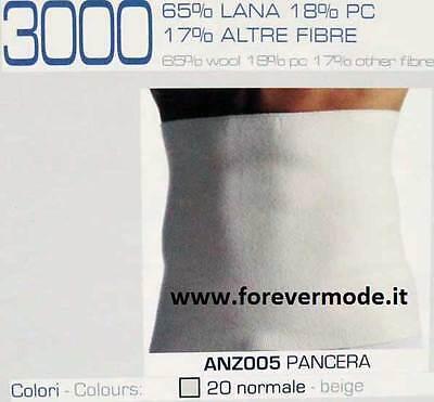 Pancera fascia elastica Alpina uomo contenitiva in misto lana art 1033 ANZ003