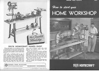 Delta Rockwell How To Start You Home Workshop Instructions