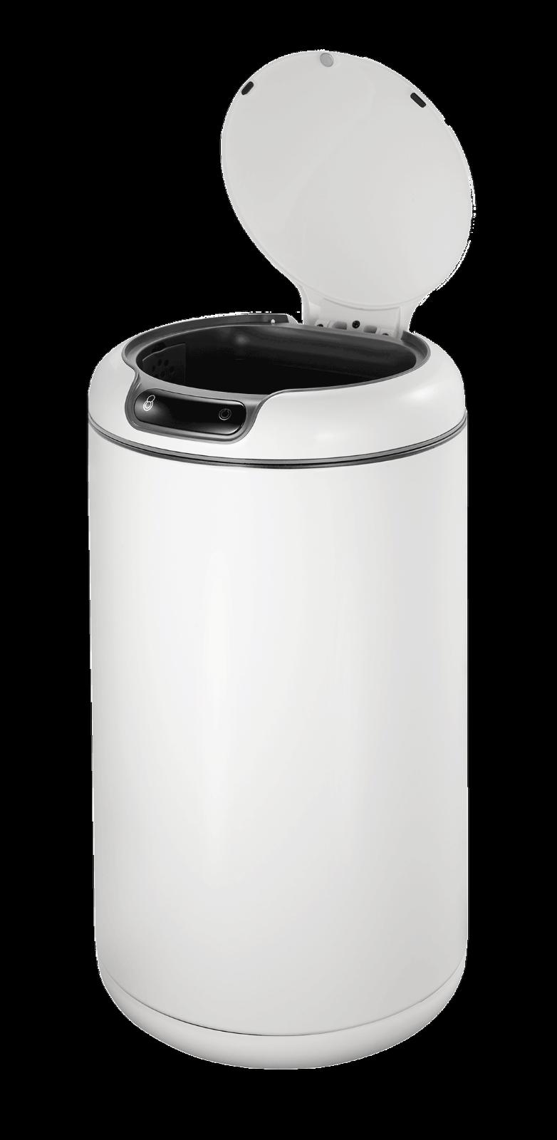 EKO GALLERIA Weiß SENSOR BIN 9L No Touch Stainless Steel Hygienic Inner Bucket