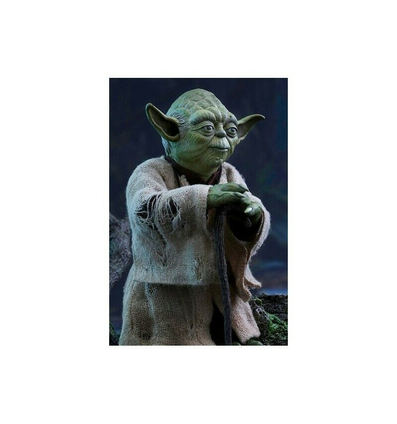 Hot Toys Star Star Star Wars Episode V figurine 1 6 Yoda 9c6cfa