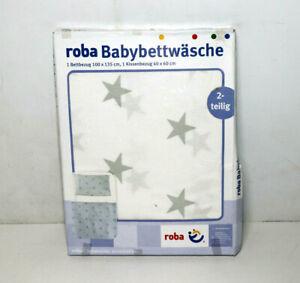 Kollektion 'little Stars' Roba Bettwäsche 2-tlg Kinderbettwäsche 100x135 Cm So Effektiv Wie Eine Fee
