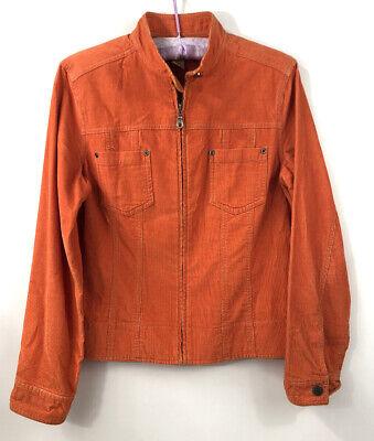 J.Jill Womens Size XS Orange Corduroy Jacket Blazer Long ...