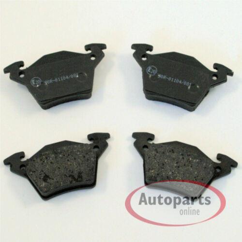 Bremsscheiben Bremsen Set Handbremse vorne hinten 638//2 Mercedes V Klasse