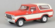 NEO 46910 - Ford Bronco rouge /  blanc - 1979   1/43