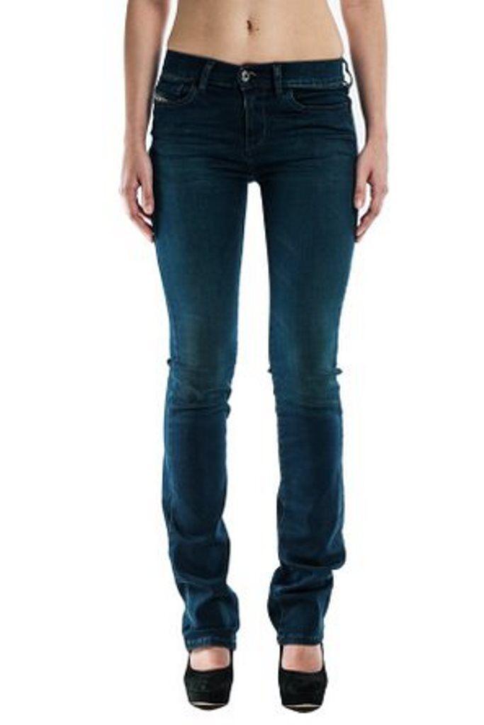 NEW-Ladies-DIESEL-BOOTZEE-0804p--Bootcut Slim Straight  womens jeans 25x30
