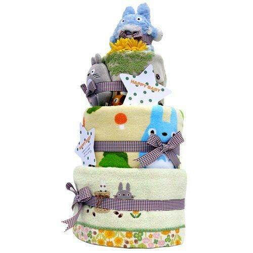 My Neighbor Totgold Diaper Cake & Towel 3 Set With Pampers S Size Studio Ghibli