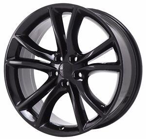 Image Is Loading 20 034 Dodge Charger Challenger Rt Black Wheel