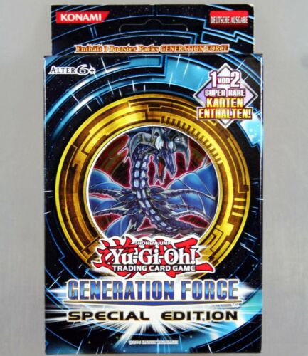 generazione Force Special Edition tedesco Trading Card Game YU-GI-OH