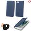 Huawei y6p-Smart magnetic azul protección bolsa case cover cáscara Funda móvil