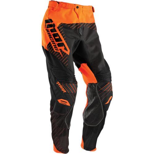 Thor Motocross MX Men/'s Riding Race Pant S6 Core Hux Black//Orange 28
