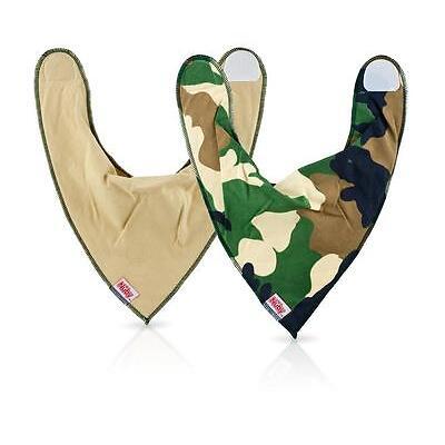 Brand New Nuby Bandana Baby Dribble Bib 2PK Boys & Girls Designs Avail. 0m+