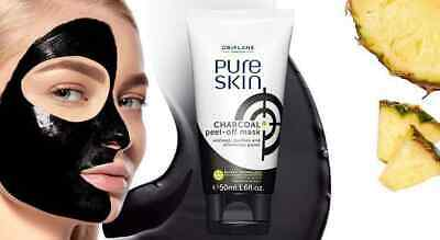 Oriflame Pure Skin Charcoal Peel Off Mask 50ml New Original Ebay
