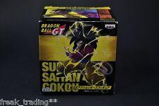 Banpresto Dragonball PVC Figure SS Super Saiyan 4 Goku / SCultures HQ DX