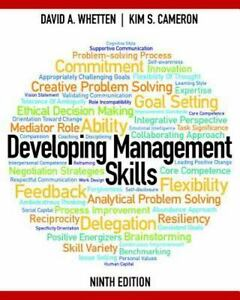 Developing management skills by david a whetten and kim s cameron stock photo fandeluxe Image collections