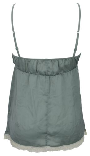 Ex Store Ladies Smooth Satin Strappy Camisole Top