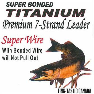 x 18 in. Finn-Tastic Titanium 7-Strand Leader 60 lb