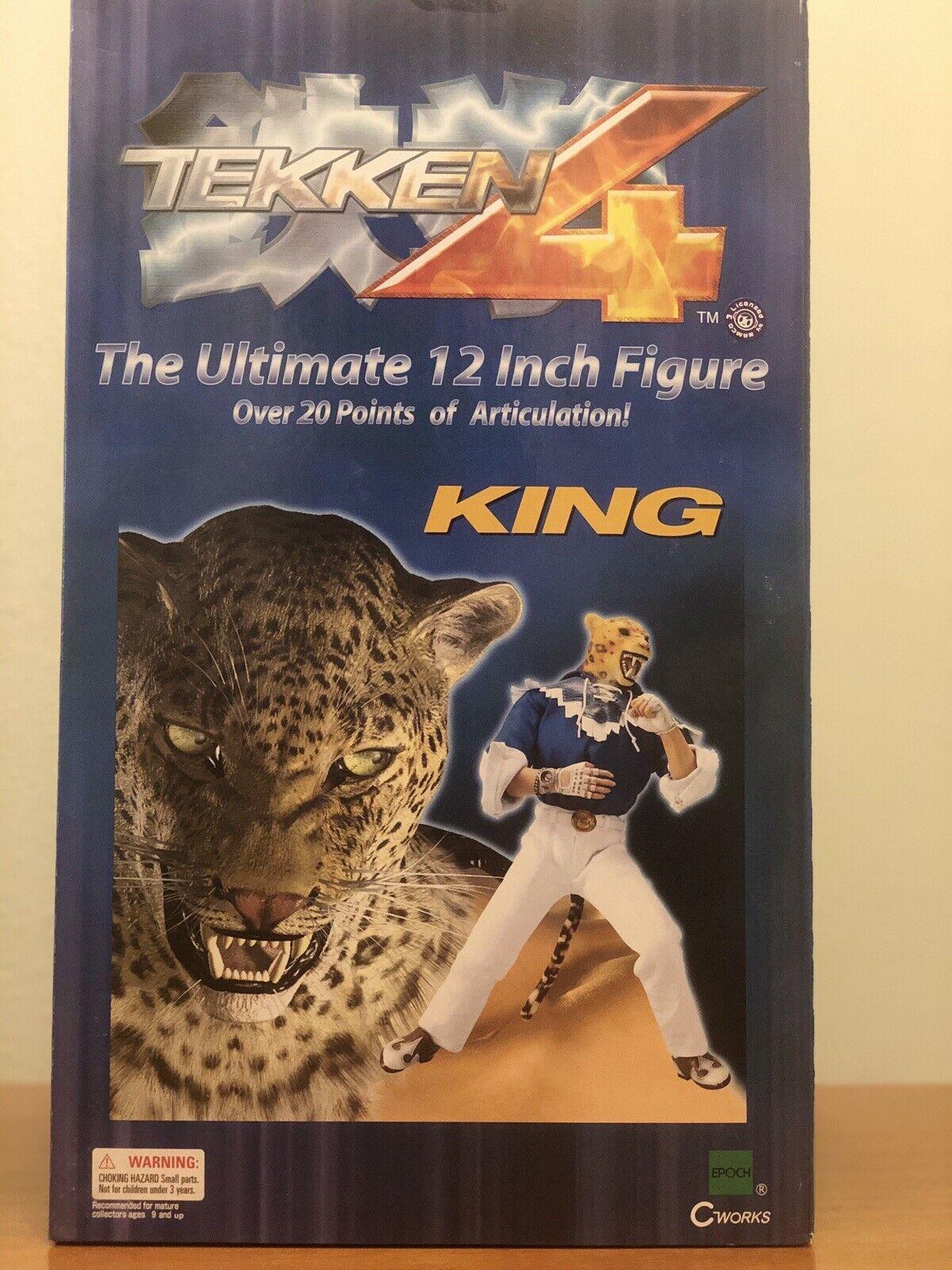 Epoch Tekken 4 Paul Phoenix 12 Inch Action Figure For Sale Online
