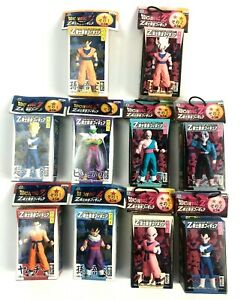 Very-Rare-Dragon-Ball-Z-DBZ-Warrior-Assembly-Vol-1-amp-Vol-2-Complete-Figure-Set