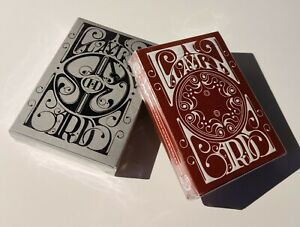 2-DECKS-Smoke-and-Mirrors-V6-amp-V7-Carbon-Playing-Cards-by-Dan-and-Dave