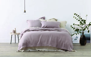 Sheridan-Abbotson-Belgian-Linen-Tailored-Quilt-Cover-Winter-Berry
